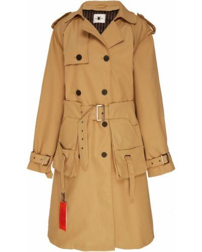 Пальто классическое оверсайз бежевое Daily Paper