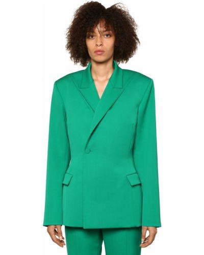 Пиджак приталенный шерстяной Balenciaga
