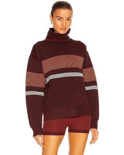 Sweter bawełniany bordowy Nagnata