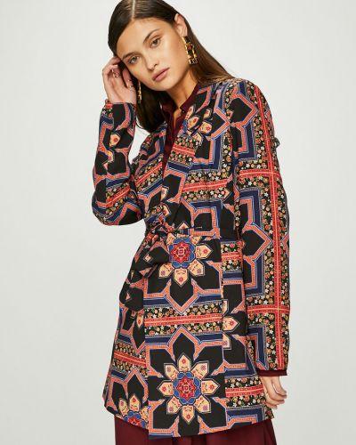 Пиджак с поясом прямой Answear