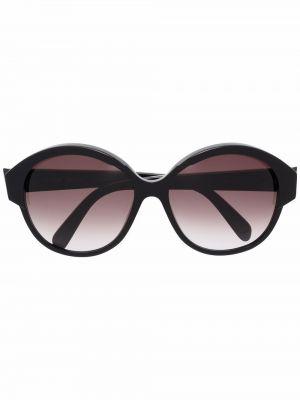 Акриловые солнцезащитные очки - черные Celine Eyewear