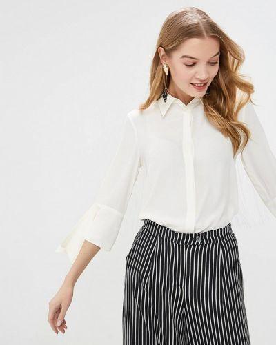 Блузка с рюшами белая Beatrice.b