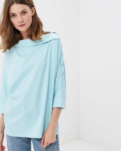 Блузка бирюзовая весенний Vittoria Vicci