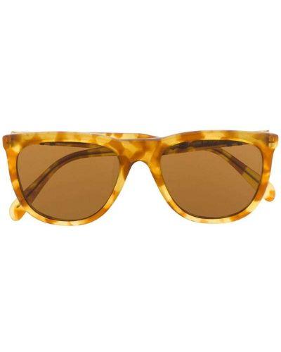 Прямые муслиновые солнцезащитные очки круглые Persol Pre-owned
