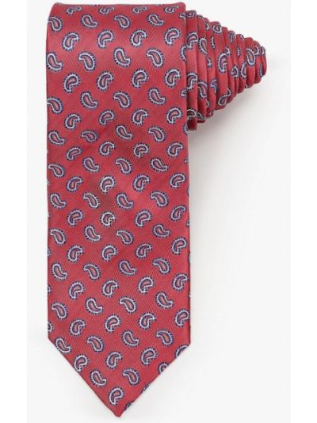 Розовый галстук Angelo Bonetti