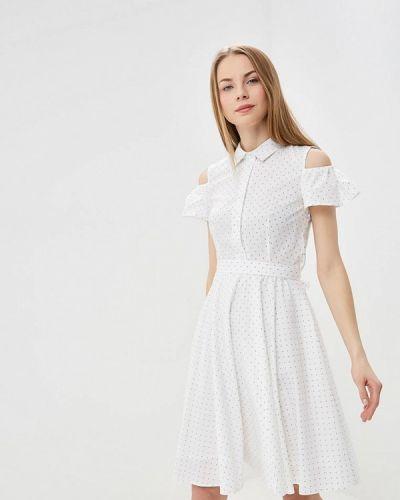 Платье с открытыми плечами весеннее Tutto Bene