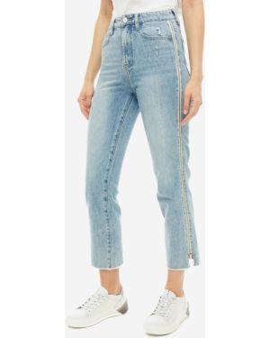 Укороченные джинсы синие Miss Sixty