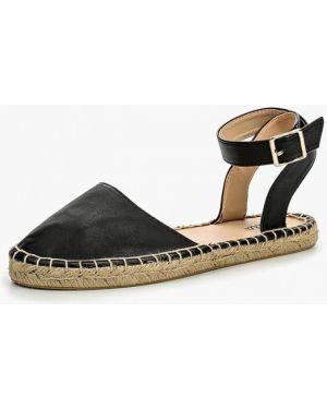 Черные сандалии Ella