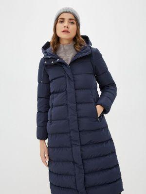 Синяя утепленная куртка Geox