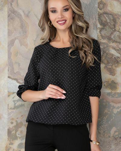 С рукавами блузка в горошек на резинке Bellovera