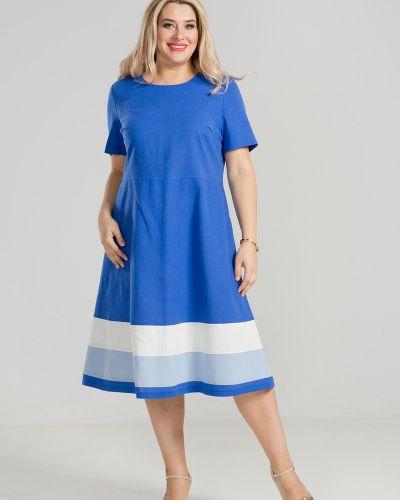 Летнее платье мини со вставками Luxury