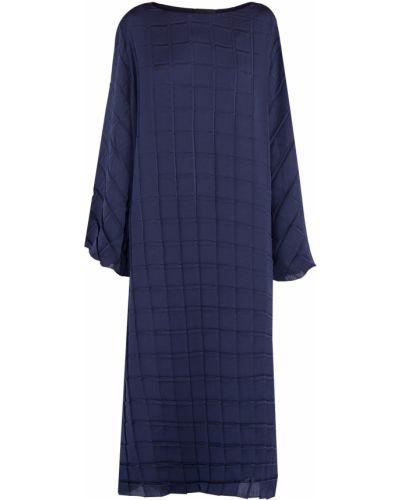 Платье из крепа с вырезом The Row