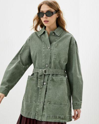 Джинсовая куртка - зеленая Befree