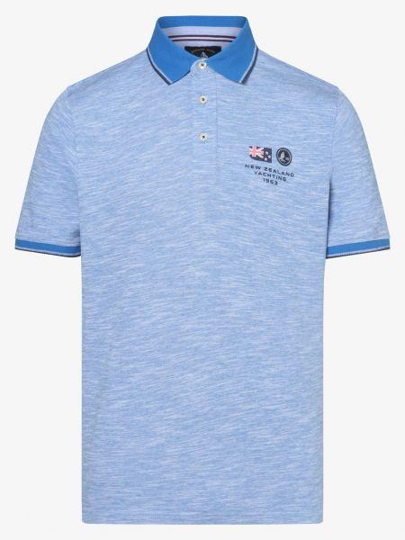 Niebieski t-shirt Andrew James Sailing