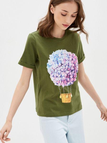Футболка - зеленая Fashion.love.story