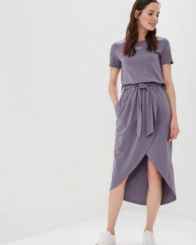 Платье - серое Sitlly