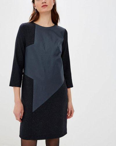 Платье - синее Emi