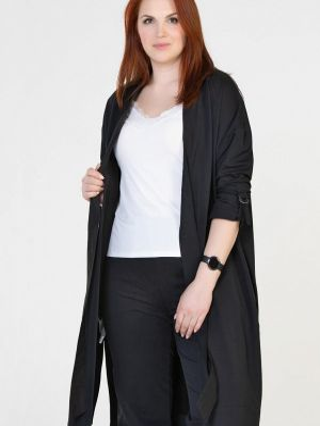 Черный свитер Prima Linea