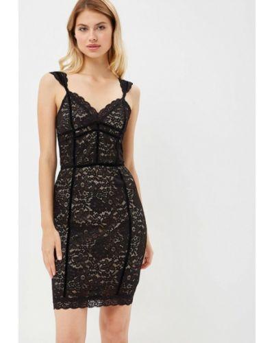 Черное платье осеннее Love Republic