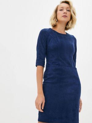 Повседневное платье - синее Aelite