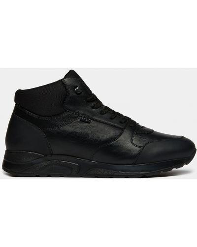 Повседневные теплые черные высокие кроссовки Ralf Ringer
