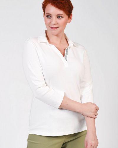 Хлопковая белая блузка Via Appia