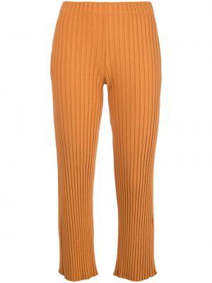 Spodnie z wysokim stanem - pomarańczowe Simon Miller