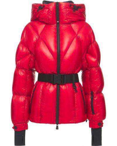 Красная куртка на молнии Moncler Grenoble