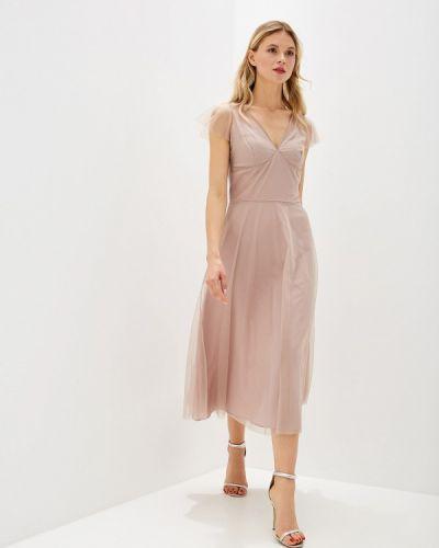 Вечернее платье - бежевое Genevie