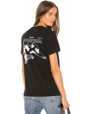 T-shirt z kapturem z logo Off-white