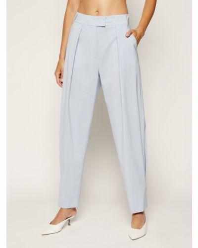 Spodnie materiałowe - niebieskie Max&co.
