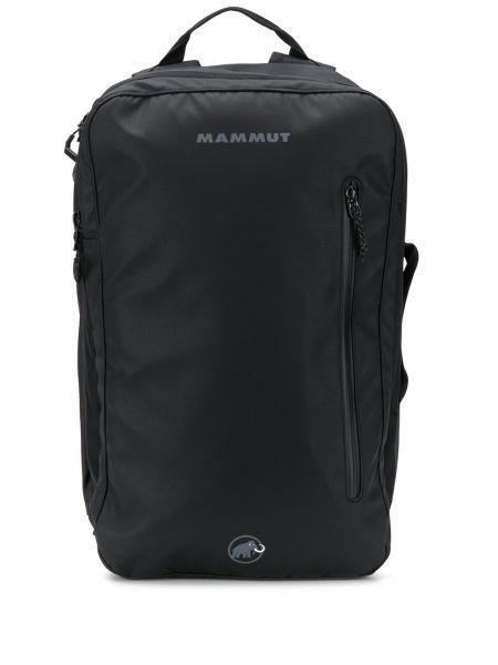 Рюкзак спортивный с логотипом - черный Mammut