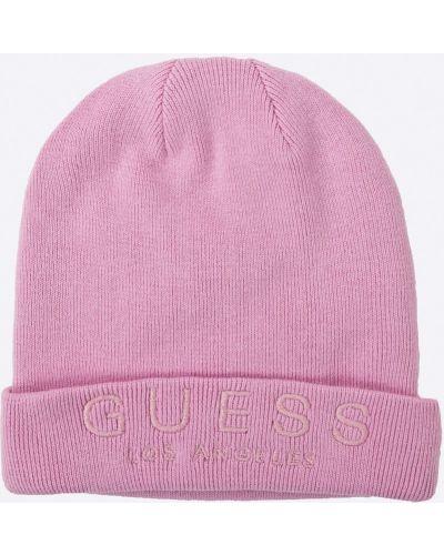 Розовая шляпа Guess Jeans