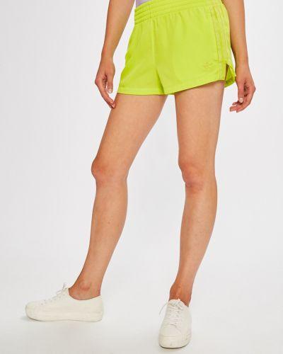 Спортивные шорты с завышенной талией с лампасами Adidas Originals