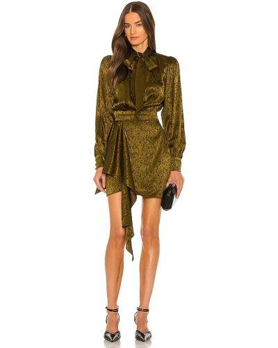 Шелковое платье Ronny Kobo