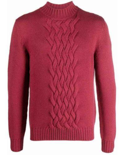 Czerwony sweter Eleventy