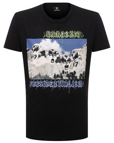 Черная итальянская футболка Diego Venturino