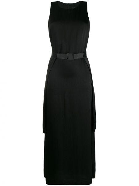 Платье миди - черное J.lindeberg