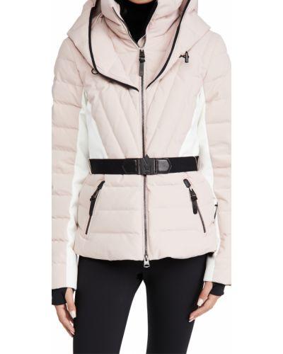 Кожаная куртка с капюшоном с перьями Mackage