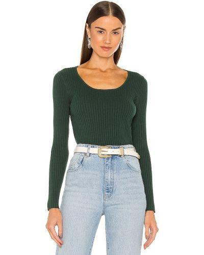 Пуховый свитер - зеленый Rolla's