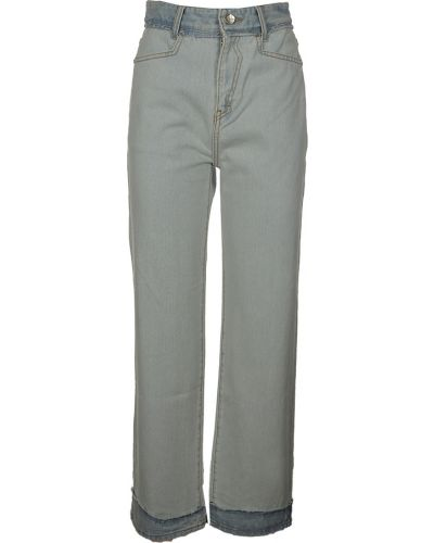 Niebieskie jeansy Ader Error