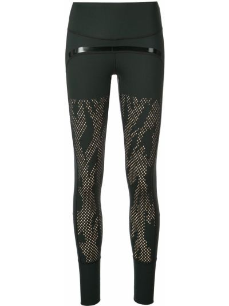 Спортивные брюки черные эластичные Adidas By Stella Mccartney