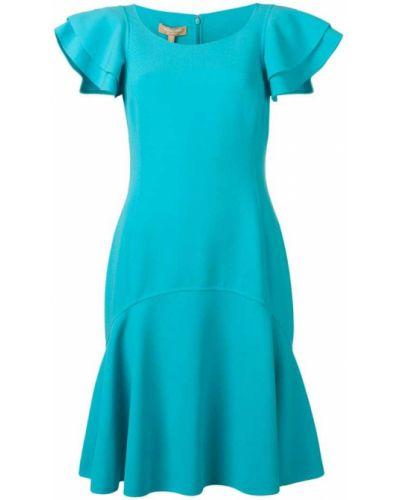 Платье мини на молнии с вырезом Michael Kors Collection