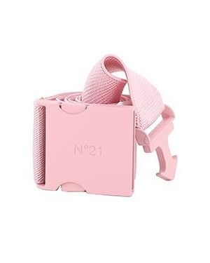 Розовый ремень из вискозы No.21