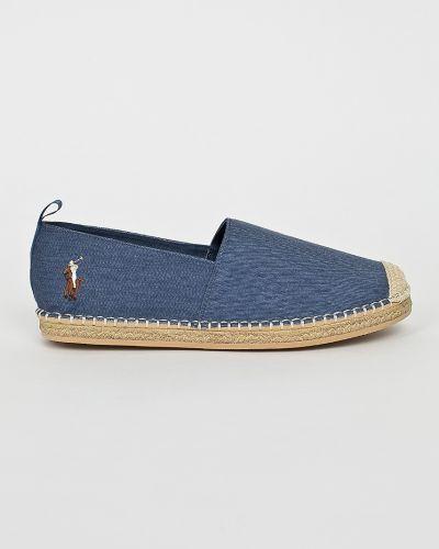 Эспадрильи синий темно-синий Polo Ralph Lauren