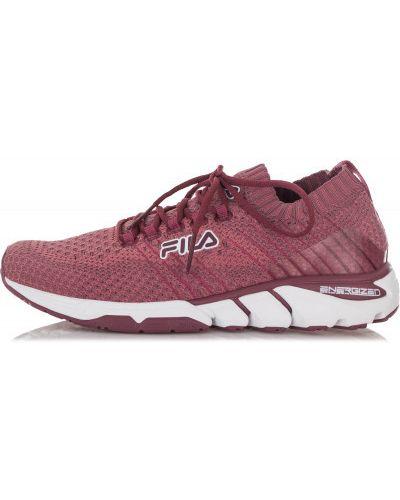 Кроссовки на шнуровке тренировочные Fila