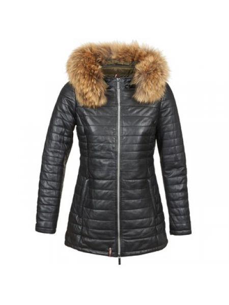 Czarna kurtka pikowana Oakwood