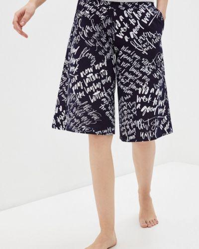 Синяя юбка-шорты Mana