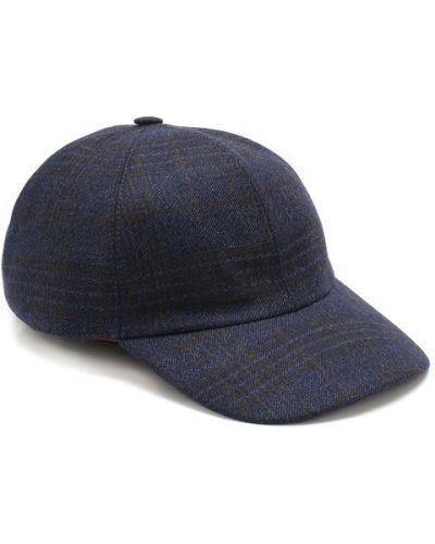 Бейсболка темно-синий кашемировый Loro Piana