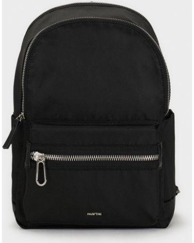 Рюкзак черный с узором Parfois